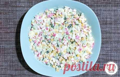 Рецепт салата на все времена: очень вкусный и простой в приготовлении! | Рецепты вкусных салатов | Яндекс Дзен