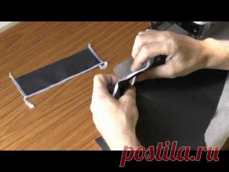 ✂️\ud83d\udc56\ud83d\udc4d Como coser el bolsillo en el límite. La costura y el corte.