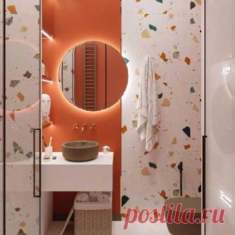 6 вдохновляющих фото маленьких ванных комнат, в которых на самом деле удобно - Я Покупаю