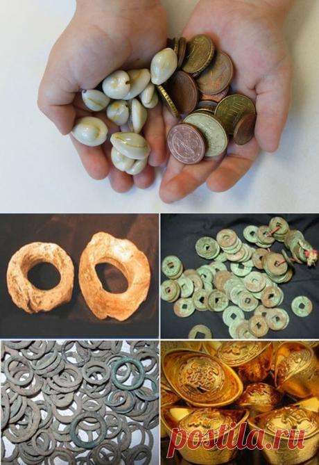 Как выглядели древние деньги разных народов
