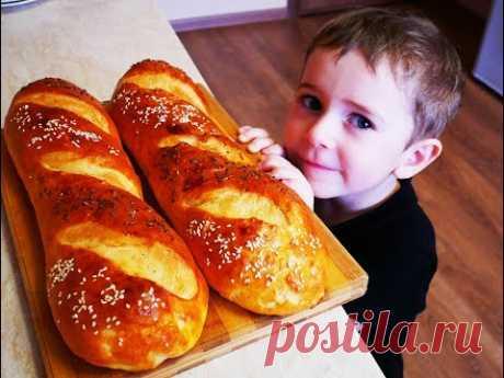 La BARRA de pan MÁS SUAVE y TIERNA de casa