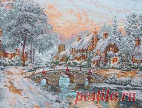 Рождественский мостик | Скачать схему бесплатно