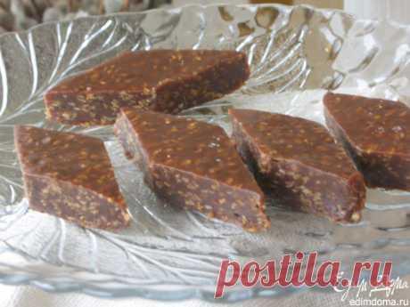 Шоколадно-кунжутное бурфи
