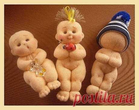Мастер класс по маленьким куколкам