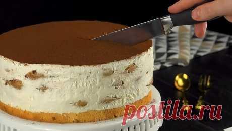 Нежный торт из печенья без выпечки: очень простой и вкусный десерт