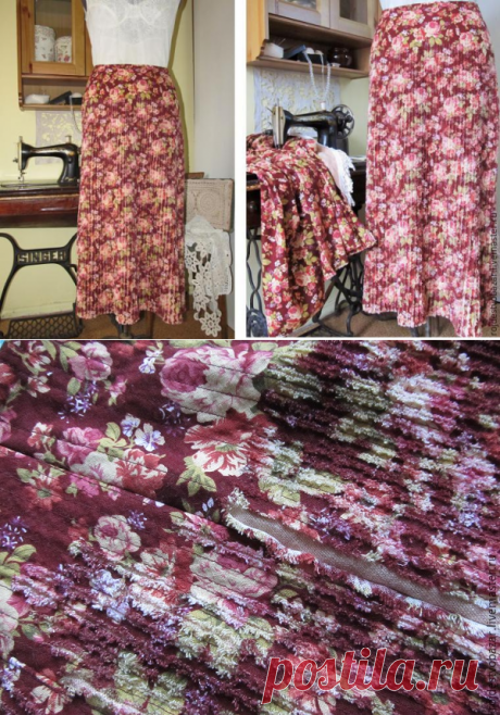 We sew a skirt on slanting in equipment the chenille - the Fair of Masters - handwork, handmade