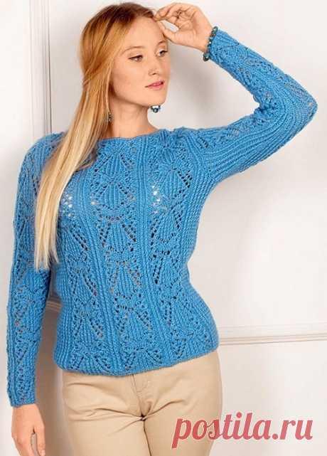Красивые узоры для кофточек, свитеров, пуловеров