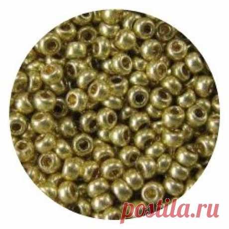 """Бисер Preciosa """"Чарiвна Мить"""", 10/0, цвет: оливковый металлик (18151), 50 г"""