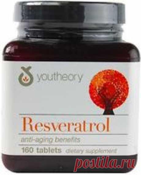 Resveratrol Ресвератрол 160 табл. купить, состав, отзывы. ☎ (044) 222 88 00.  Сертификаты USDA Organic, Kosher, Vegan, Raw. ✈ Доставка по всей Украине