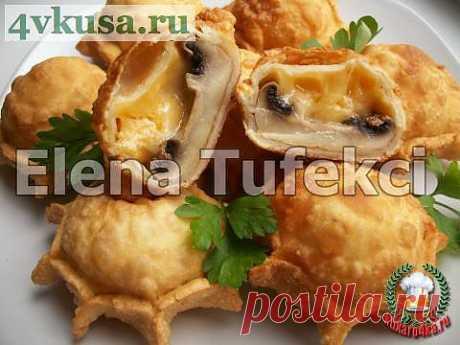 Пирожки «Грибные бомбочки» | 4vkusa.ru