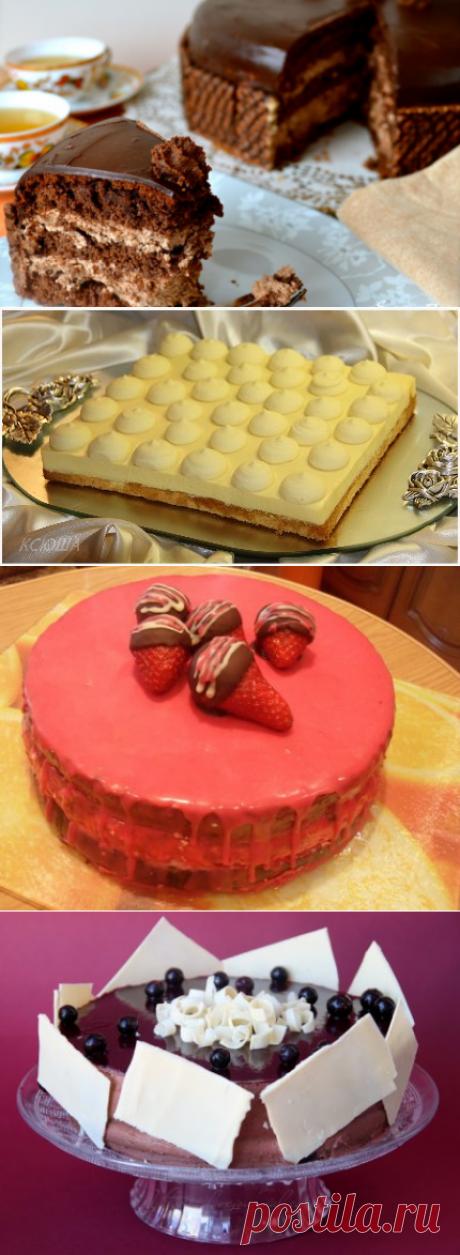 Шоколадный торт с вафельным кремом » Жрать.ру