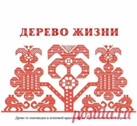 Узоры славянской вышивки