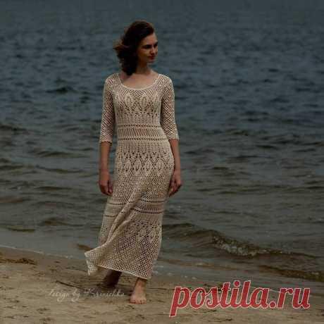 Вязание крючком платье узор только в русском Boho вязание крючком кружева / Etsy