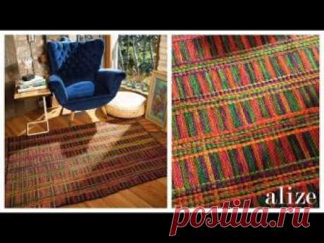 Kilim Yapım ı - Making Rug (Ekstra Folklorik Batik)