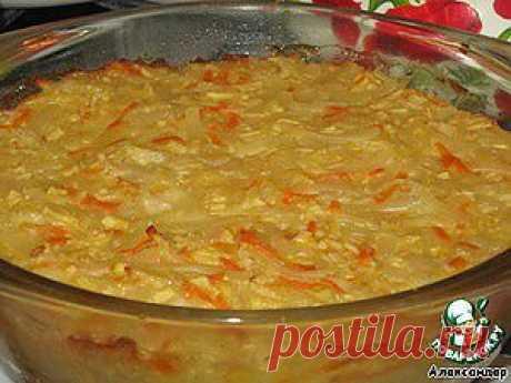 Сладкая запеканка из лапши с морковью и яблоками - кулинарный рецепт