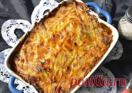 Запеканка «Мядзведзь»- простое белорусское блюдо — Едим дома