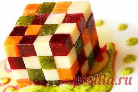 Винегрет «Кубик-рубик»