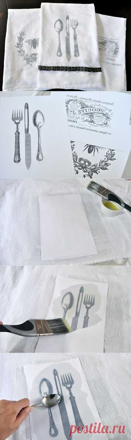 How to transfer drawing to fabric | My Milady