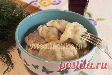 ✔️Постные вареники с картошкой и грибами