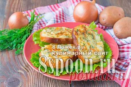 Горячие бутерброды с картошкой на сковороде - 8 Ложек.ру