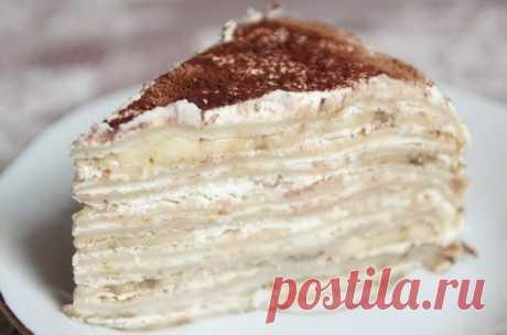 Как приготовить быстрый тортик без выпечки. - рецепт, ингредиенты и фотографии