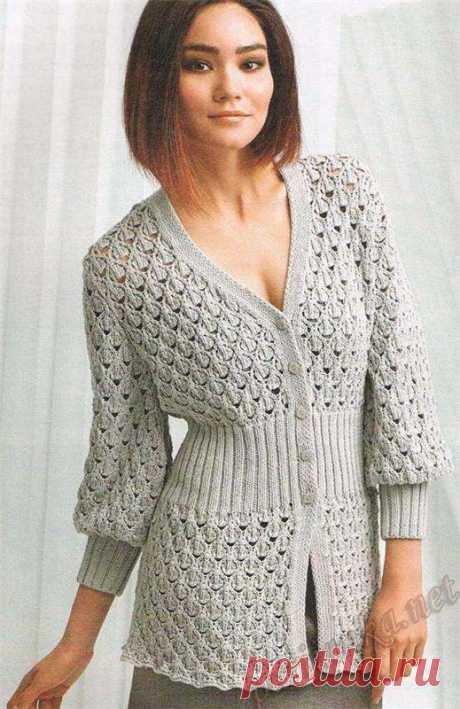 Этот прекрасный кардиган может стать красивым и стильным дополнением вашего гардероба.