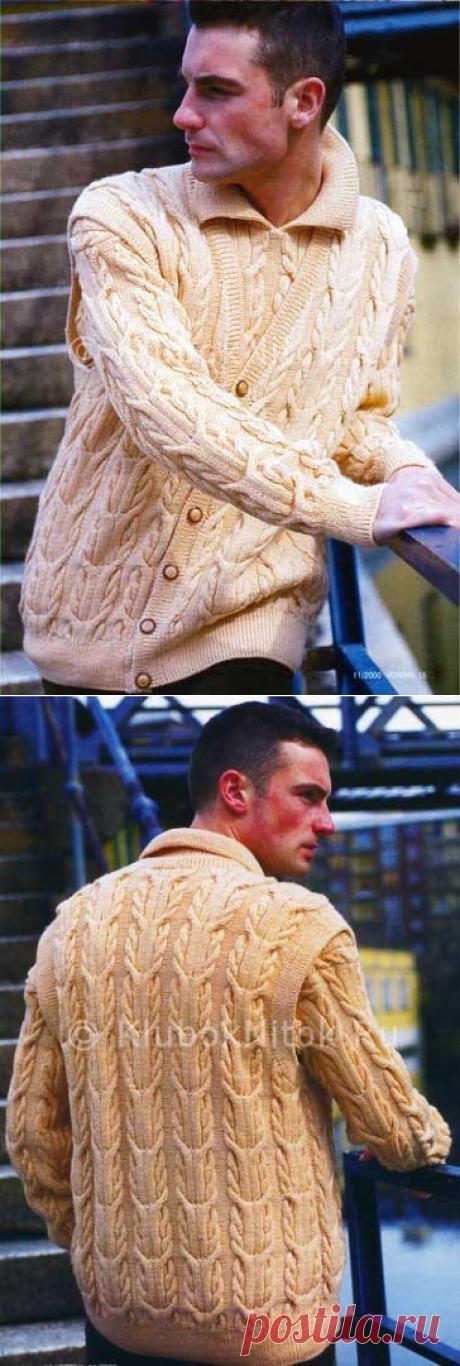 El jersey y el chaleco   la Labor de punto de hombre   la Labor de punto por los rayos y el gancho. Los esquemas de la labor de punto.