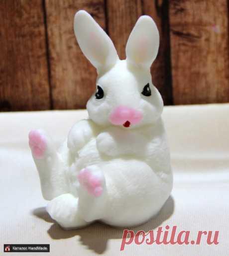 Сувенирное мыло Кролик купить в Беларуси HandMade