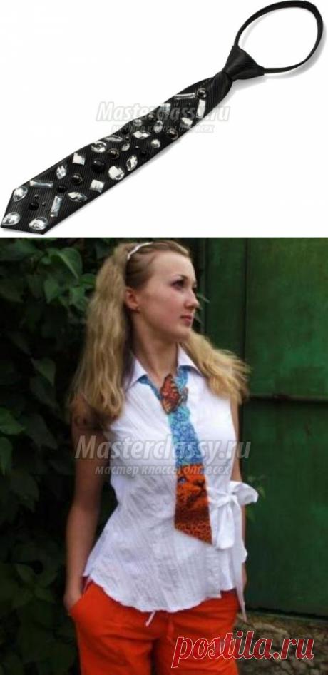 Как сшить галстук. Выкройка и описание