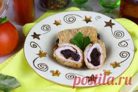 Рулетики из свинины с черносливом: рецепт пошаговый с фото | Меню недели