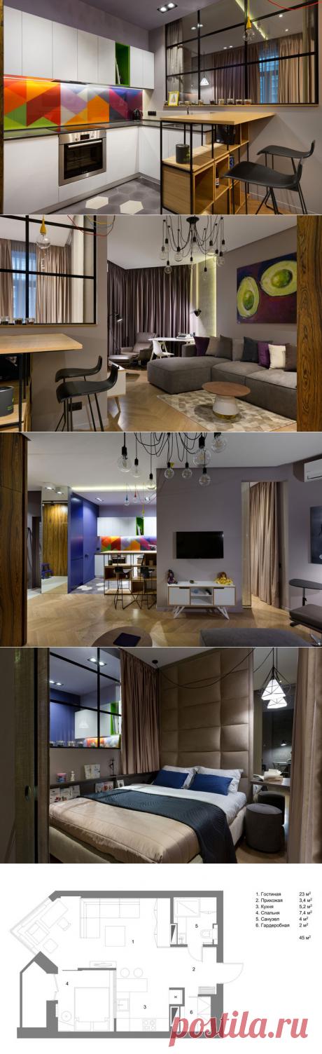 Современная квартира с умной планировкой в Киеве