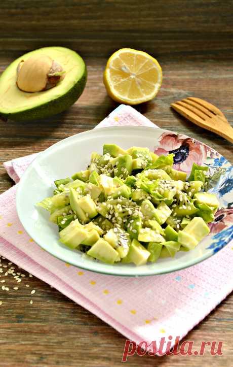 Зеленый салат - источник витаминов и заряда энергии