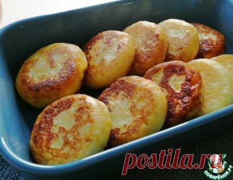 Картофельные оладьи с сыром – кулинарный рецепт