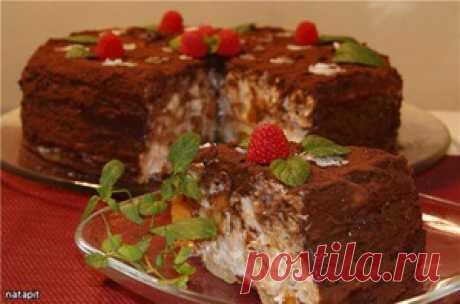 """Торт """"Нежная тропиканка"""" - кулинарный рецепт"""