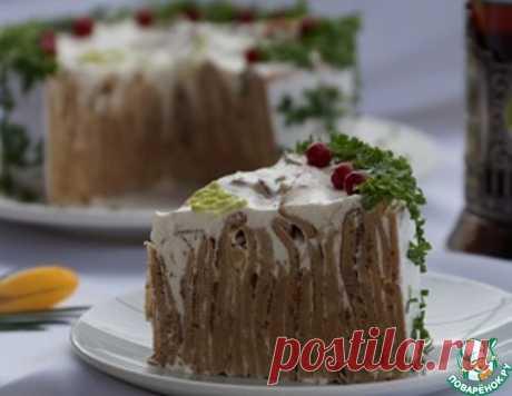 Торт закусочный – кулинарный рецепт