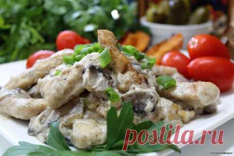 Бефстроганов по-литовски (с солеными огурцами) - Вторые блюда - Кулинарные рецепты ! - ФотоКулинария