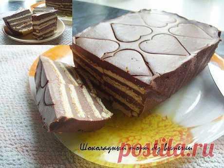 (+1) тема - Шоколадный торт без выпечки | Любимые рецепты