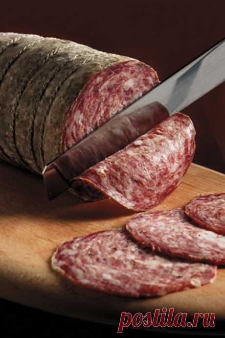 Домашняя колбаса: рецепт. Свинина, соль, перец, оболочка и прохладный подвал. Мясо и птица