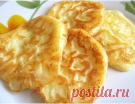 Полезный завтрак — оладьи с творогом! - Советы на каждый день