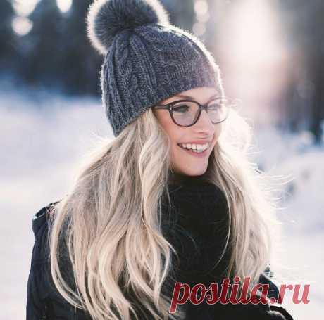Идеи и модели вязаных шапок, которые можно носить с очками. Простые, общие рекомендации.   Ирина СНежная & Вязание   Яндекс Дзен