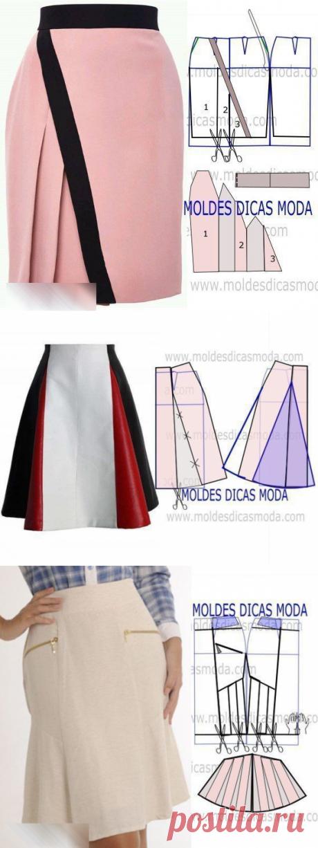 Моделирование интересных фасонов юбок