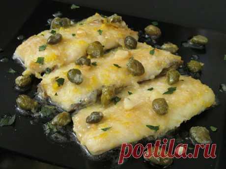 Постигая искусство кулинарии... : Пикката из рыбы (Fish piccata)