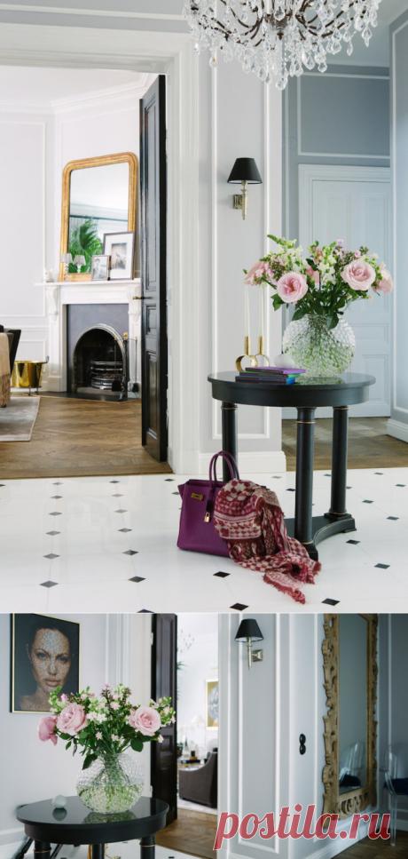 Скандинавский стиль, вдохновлённый номерами роскошных отелей: светлая романтичная квартира из Швеции