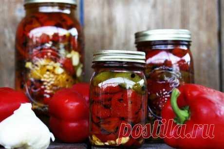 Маринованный перец на зиму: рецепты простых и вкусных заготовок | Статьи (Огород.ru)