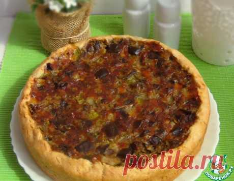 Овощной пирог с кабачками и баклажанами – кулинарный рецепт