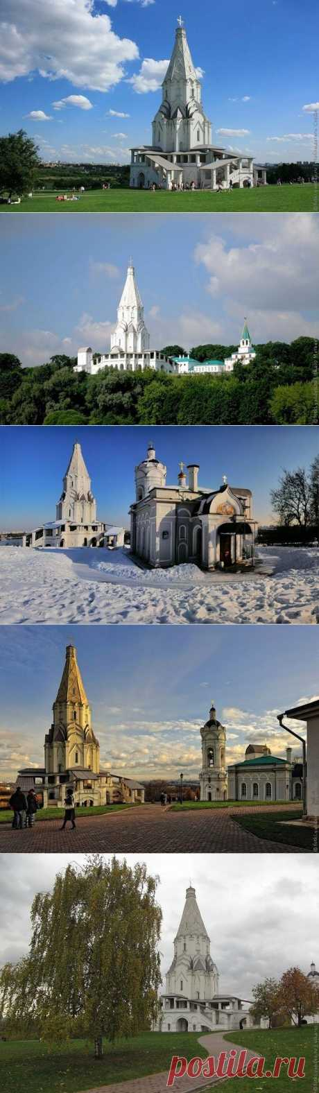 Церковь Вознесения Господня в Коломенском, Москва, фото церкви