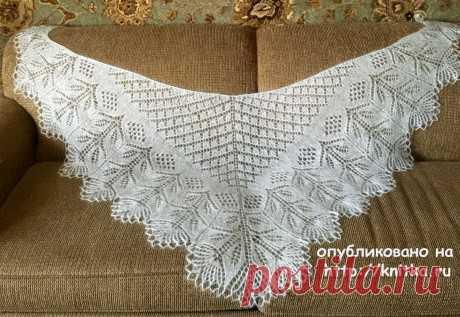 Шаль спицами по схеме Эриха Энгельна с описанием, Вязание для женщин