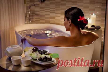Принимаем ванну с пользой — Полезные советы