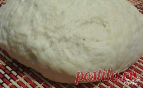Dough on mayonnaise for pizza - the step-by-step culinary recipe on Повар.ру