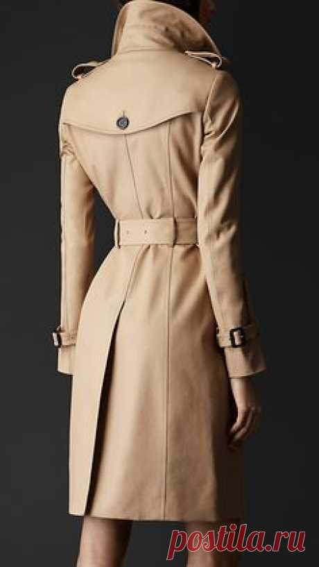 Double Cotton Trench Coat   Burberry